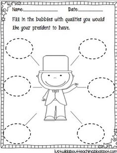 President's Day - Elections { Craftivity }   Check out this adorable and original creativity packet for President's Day with a special treat included for your students!  justwildaboutteac...