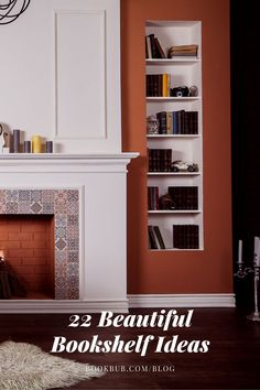 These stunning bookshelf ideas are sure to inspire your reading nook or home library.  #books #bookshelf #bookshelves Bookshelf Ideas, Bookshelves, Reading Nook Kids, Nook Ideas, Cool Books, Family Rooms, Library Books, Book Stuff, Book Worms