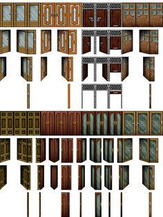 RPG Maker VX - Door II by Ayene-chan.deviantart.com on @deviantART