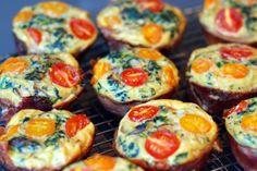 Prosciutto-Wrapped Mini Frittata Muffins – The Foodee Project (Nom Nom Paleo) Frittata Muffins, Mini Frittata, Paleo Frittata, Frittata Recipes, Primal Recipes, Real Food Recipes, Great Recipes, Favorite Recipes, Healthy Recipes