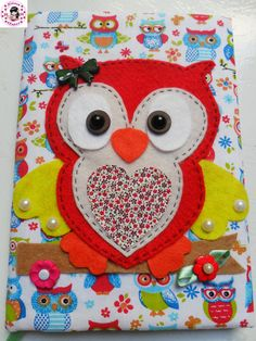 Make beautiful lined notebooks, we give you 15 ideas to do itMake beautiful lined notebooks, we give you 15 ideas to do itMake beautiful lined notebooks, we give you 15 ideas to do itMake beautiful Owl Crafts, Crafts For Kids, Altered Composition Books, Owl Books, Owl Applique, Felt Owls, Christmas Arrangements, Decorate Notebook, Custom Book