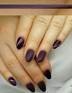 Browse and save best ideas of dark and purple nail art designs 2018 to opt right now. Purple is one the favorite colors of ladies. In this post we've rounded up some best examples of nail arts to show you for trendy,cute and awesome hands look.