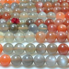 8mm Round Lace Mystic Topaz Emerald Stone Beads 15/'/'