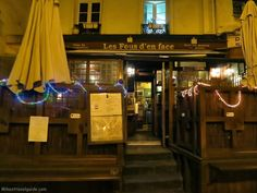 Les Fous den Face – A convenient little restaurant that's great for lunch or dinner. Follow the link to find more good places to eat at in Paris.  http://mikestravelguide.com/where-to-eat-in-paris-near-place-des-vosges/