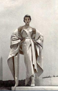 Christian Dior Evening Ensemble, 1951
