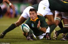 Joost van der Westhuizen, confined to a wheelchair by motor neurone disease, joined his team-mates from South Africa's 1995 World Cup to mark the anniversary of their historic achievement. South African Rugby, Neurone, African History, 20th Anniversary, Real Man, World Cup, Van, Hero, Memories