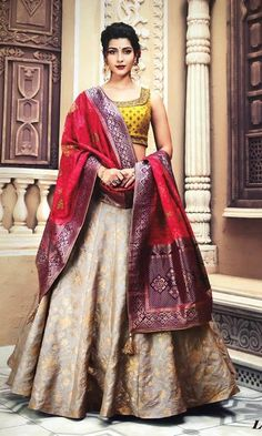 Raas the global desi is Chicago based Indian clothing online store-shop wedding,bridal sarees,lehengas,anarkalis and chaniya choli online USA WhatsApp us for Purchase & Inquiry : Buy Best Designer Collection from by Indian Wedding Lehenga, Bridal Lehenga Choli, Indian Lehenga, Indian Wedding Outfits, Bridal Outfits, Indian Outfits, Saree Wedding, Wedding Chaniya Choli, Half Saree Lehenga