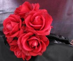 Natural Touch Bouquet Red Rose