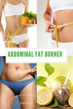 """It's Called """" The Fat Burner"""" Cause It Eliminates Abdominal Fat In Just One Week!"""