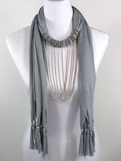 blue harlow scarf