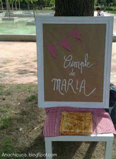 Anachicuca: El picnic-cumpleaños de MARIA.