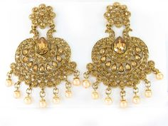 Wholesale & Supply Store from Indian Jewelry Supplier Wholesale at www.sd-fashions.com . Beautiful chand bali earring collections.