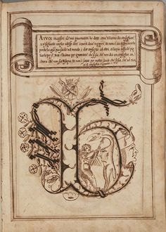 This imaginative calligraphy copybook-come-illuminated manuscript practice manual was produced in the city of Perugia (in Umbria, Italy) between 1600 and 1615 by the scribe, Antonio Schiratti.