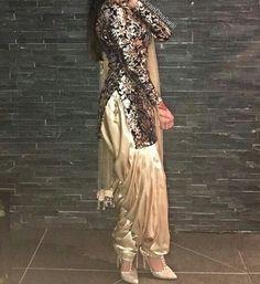Pinterest: @pawank90 Indian Fashion Trends, Punjabi Fashion, Bollywood Fashion, Asian Fashion, Ethnic Fashion, Indian Suits, Indian Attire, Indian Ethnic Wear, Indian Dresses