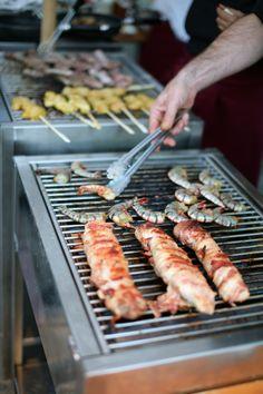 wedding, barbeque Grill Pan, Sausage, Grilling, Bbq, Bride, Wedding, Inspiration, Food, Griddle Pan