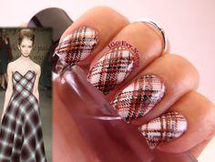 #nailart #stamping #nailart #mani #uñas #diseñodeuñas #uñasestampadas #sexynails #moda #estilo #style #fashion #fashionnails #plaidnails