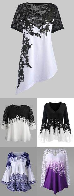 17 trendy fashion plus size spring ideas Curvy Fashion, Look Fashion, Trendy Fashion, Plus Size Fashion, Fashion Models, Girl Fashion, Fashion Dresses, Fashion Blouses, Plus Size Crop Tops