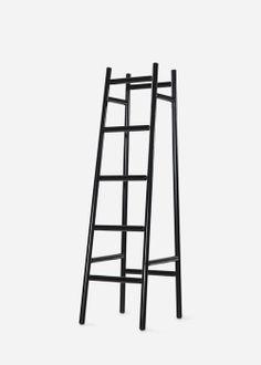 Harri Koskinen: Coat Rack Täähän on hauska! Can Design, Custom Furniture, Scandinavian Design, It Works, Bamboo, Vintage Outfits, Interior Design, Finland, Lightning