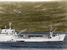 M V in Malvinas