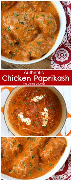 chicken paprikash recipe hungarian authentic traditionalYou can find Hungarian recipes and more on our website. Authentic Chicken Paprikash Recipe, Hungarian Chicken Paprikash, Hungarian Paprika Chicken, Turkey Recipes, Dinner Recipes, Best Chicken Recipes, Recipe Chicken, Holiday Recipes, Hungarian Recipes