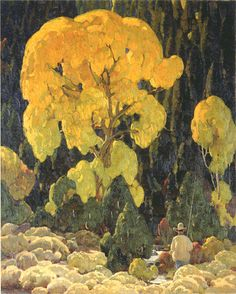 William Herbert Dunton October Gold - The Largest Art reproductions Center In Our website. Low Wholesale Prices Great Pricing Quality Hand paintings for saleWilliam Herbert Dunton Landscape Art, Landscape Paintings, Modern Paintings, Art Occidental, Southwestern Art, Photo D Art, Collaborative Art, Art Studies, Tree Art