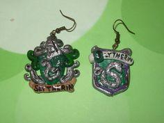 Slytherin Earrings again