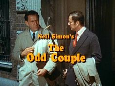 The Odd Couple (TV series)~ Tony Randall and Jack Klugman~ 70s Tv Shows, Great Tv Shows, Movies And Tv Shows, Tony Randall, Odd Couples, Vintage Tv, Vintage Stuff, It Goes On, Me Tv