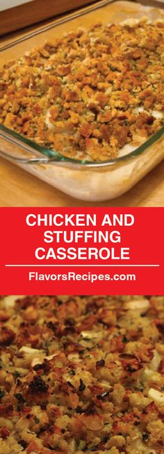 and Stuffing Casserole! Chicken and Stuffing Casserole! - Enjoy Your mealsChicken and Stuffing Casserole! - Enjoy Your meals Chicken Stuffing Casserole, Stuffing Recipes, Casserole Dishes, Simple Chicken Casserole, Main Dish Casserole Recipes, Chicken Broccoli Stuffing Casserole, Crockpot Chicken And Stuffing, Chicken And Dressing Casserole, Chicken Dressing