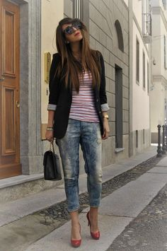 Red Louboutin and Jogg Jeans - SCENT OF OBSESSION - fashion blogger, outfit, travel and beauty tips