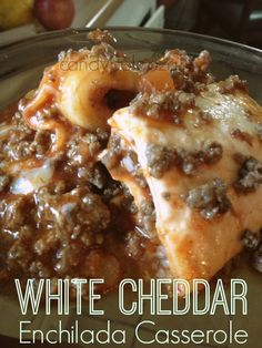 White cheddar enchilada casserole a #recipe!
