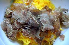 Tajarin con tartufo bianco - Ristorante Boscareto