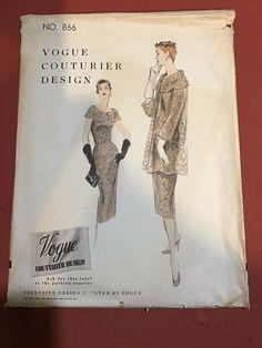 3 Vogue Couturier Design Patterns 1950-1960 #Evening Design Patterns, Cool Suits, Vogue, Cover, Books, Libros, Design Templates, Book, Book Illustrations