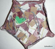 Un nid d'oiseau - bricolages pour les enfants - par Gribouille éducatif Outdoor Blanket, Children