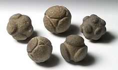 Prehistoric Artifacts Out Of Nowhere - Their Origin And Purpose Are Totally Unknown - These strange artifacts are symmetrical in design and very skillfully manufactured. In form they appear to be quite modern, but they are not.