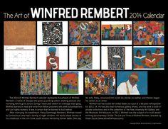 Back cover of the 2014 Winfred Rembert Calendar!