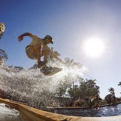 When @dieterhumpsch is midshuvit in the water feature at the @interconsanc. @harleyingleby #GoPro #SeeAustralia #GoProANZ