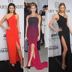 Kendall Jenner V. Hailey Baldwin V. Karlie Kloss: Supermodel SlitShowdown