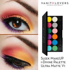 Ricrea questo fantastico makeup con la i-Divine Palette Ultra Matte V1 di #SleekMakeUP http://www.vanitylovers.com/sleekmakeup-i-divine-palette-ultramatte-v1.html?utm_source=pinterest.comutm_medium=postutm_content=vanity-lovers-sleek-paette-v1utm_campaign=pin-vanity