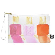 Laura Trevey Essie In Pink Pouch | DENY Designs Home Accessories