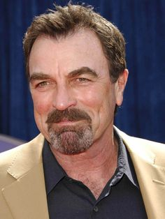 "I think Tom Selleck probably never went through ""that awkward stage"".  He has always been beautiful at every age."