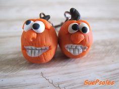 Halloween Earrings Halloween Jewelry Thanksgiving by SuePsales, $6.00