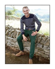 J.Crew rustic merino elbow patch sweater and the Kenton suede wing tip shoes.