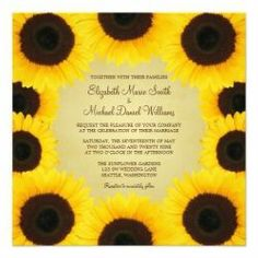 I can't think of a more sunny and cheerful flower than the sunflower or a better wedding theme. Can you?  If you're planning your #sunflower #wedding,... #sunflowerwedding
