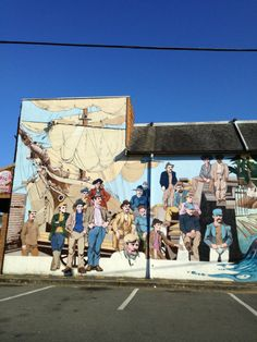 "See 51 photos and 7 tips from 448 visitors to Chemainus, BC. ""The War Wonton Soup at Bonnie Martins is the best! Canada Eh, Roadside Attractions, Quebec City, Vancouver Island, Banff, British Columbia, Four Square, Murals, New Zealand"
