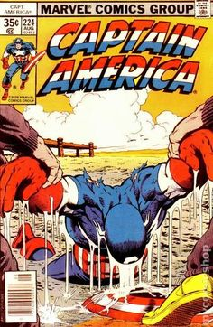 Captain America (1968 1st Series) 224