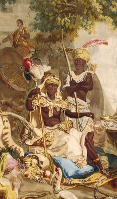 People of Color in European Art History — Jean-Jacques-François Le Barbier; Workshop of De. European History, Art History, Tudor History, British History, Art Afro, Black Royalty, Black History Facts, Strange History, African American History