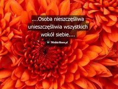 Osoba nieszczęśliwa... #Autor-Nieznany,  #Ból,-cierpienie,-łzy, #Smutek, #Szczęście