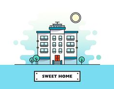 "Check out new work on my @Behance portfolio: ""Sweet Home"" http://be.net/gallery/46984171/Sweet-Home"