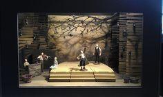 Set design model for Theatre Alibi's latest show
