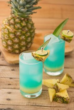 Bleu Breeze. Made with French Vodka Alizé Bleu Passion with hints of passion fruit, fresh cherries and ginger.